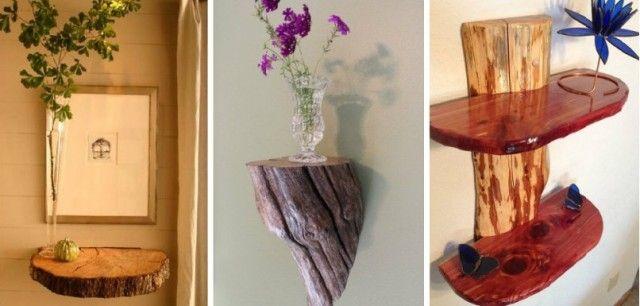 30+ DIY Rustic Decor Ideas using Logs - Total Survival