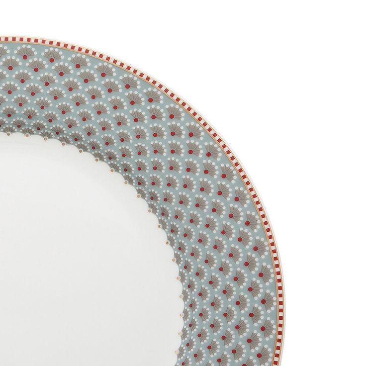 Pip Studio - Bloomingtales Blue Dinner Plate