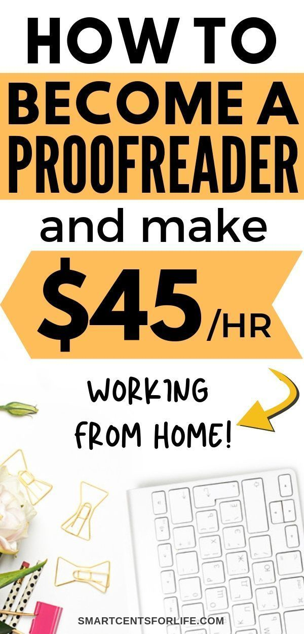 How to Become a Proofreader and Make Money from Home Proofreading offers flexibi… – kbrunozeeeny