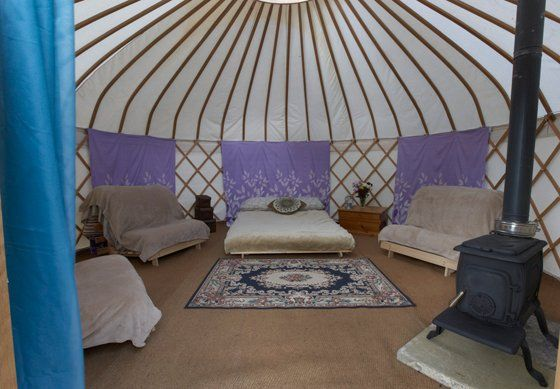 Glamping Somerset with Oxenford Farm Yurts