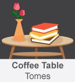 Find some Coffee Table Tomes on our blog pages.