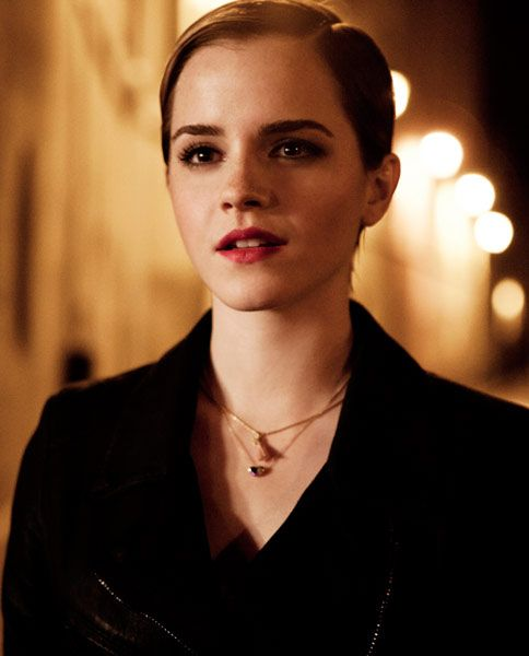 uh oh!  Now I'm really going to have to go back to my pixie cut!  Emma Watson Lancome ad photo leak