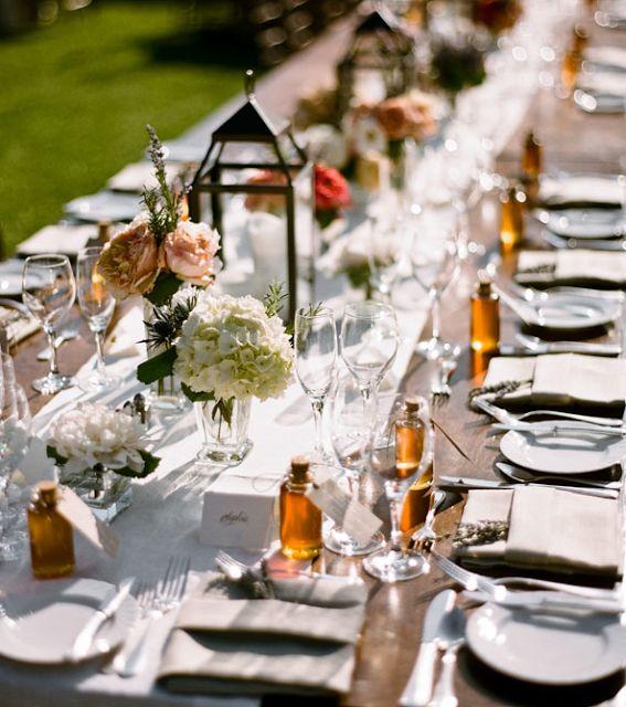Para lembrar de um casamento perfeito: Idéias para um Casamento Rústico Chic