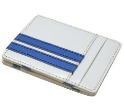 Leather Flip Wallet made a fraction wider to fit most international notes. Suits NZ, Pounds, most Asian and Euro notes (and of course Australian and US). Size 10.5cm x 8cm