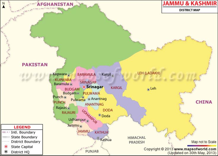 The 25+ best ideas about Kashmir Map on Pinterest | Map of ...