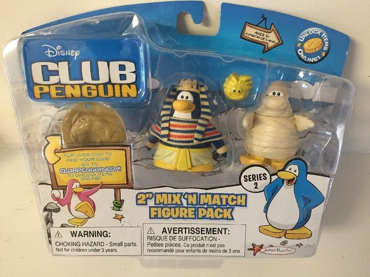 Disney Club Penguin Series 2 Pharaoh & Mummy Figure Pack BRAND NEW & RARE! | Toys & Hobbies, TV, Movie & Character Toys, Disney | eBay!