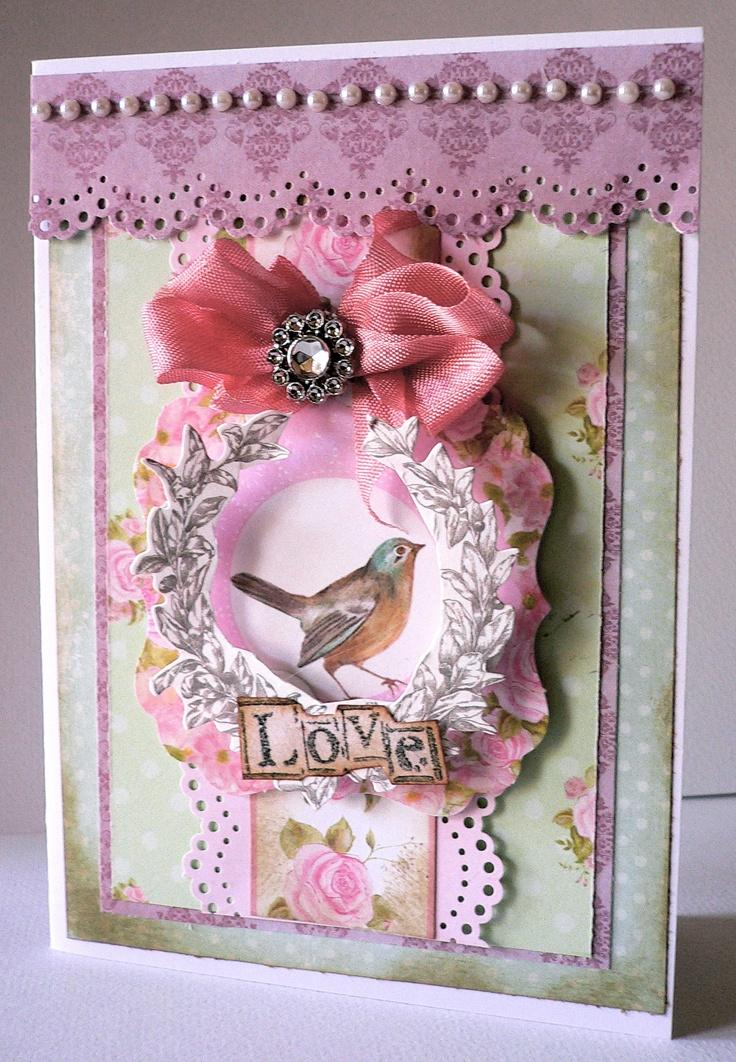 "Card created using ""True Romance"" Kaisercraft DT June 2013 Adriana Bolzon"
