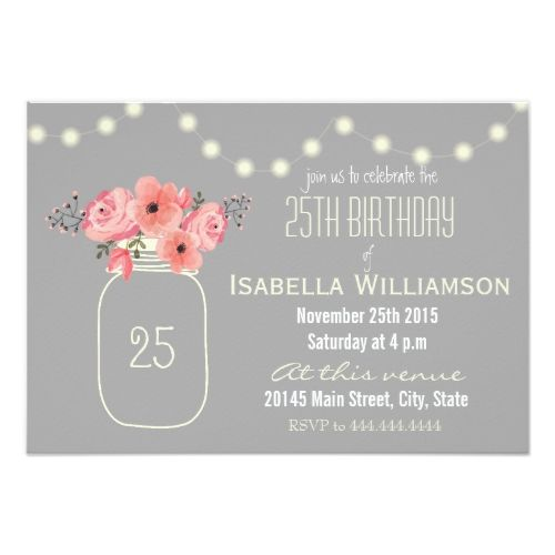 251 best watercolor birthday invitations images on pinterest, Birthday invitations