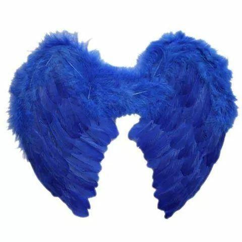 Krasne anjelske modre kridla