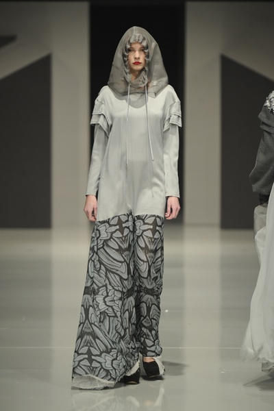 Graduate Fashion Week 2012: Chloe Jones 'Our Father Who Art in Heaven' Collection