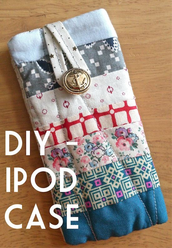 DIY ipod case, i want this!!!