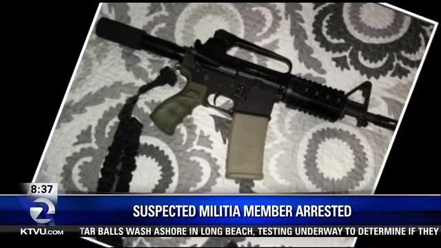 Santa Clara, CA- Federal agents have arrested ex-con, Juan Gutierrez, on charges of making guns as a member of the local militia.
