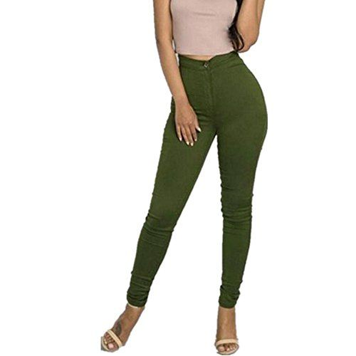 New Trending Denim: OUBAO Women Multi Colors Casual Denim Jeans Pants (S, Green). OUBAO Women Multi Colors Casual Denim Jeans Pants (S, Green)   Special Offer: $11.35      144 Reviews Specifications: Pant Style:Pencil Pants Front Style:Flat Decoration:None Pattern Type:Solid Style:Casual Fit Type:Skinny Waist Type:High Waist Package include:1PC Pant Size Details:...