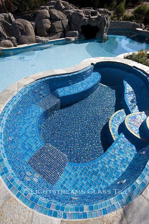 - Lightstreams Custom Glass Pool Tile C | San Diego