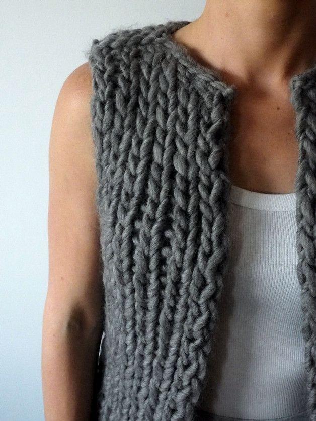 Cathy Vest - VLOKA_HANDMADE - Swetry i bezrękawniki