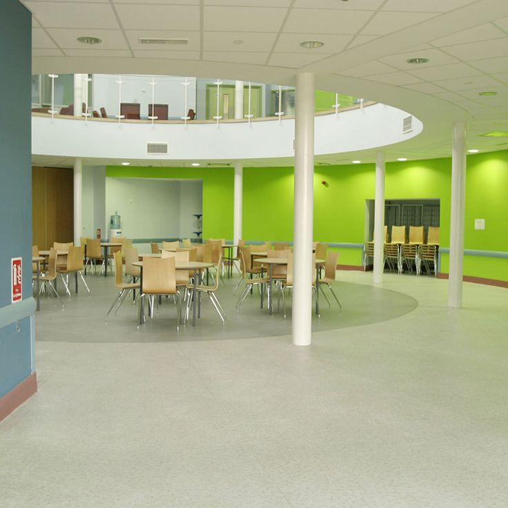 Open Plan School Dining Hall Wynstream Primary School Devon England School Interior Design