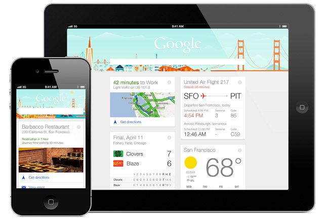 Google Now ora è anche su Iphone e Ipad