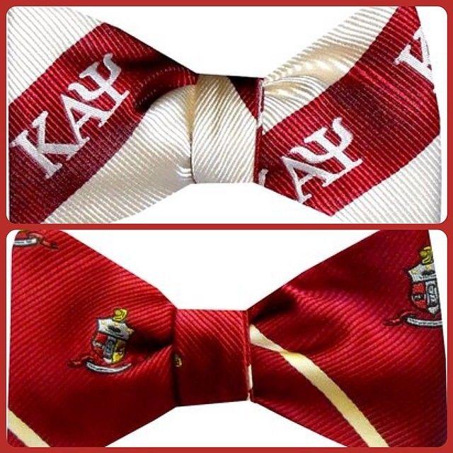 Kappa Alpha Psi bow ties