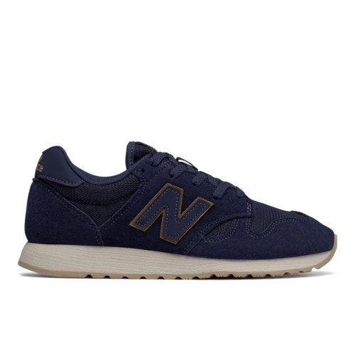 8418c68cc32 520 Women s Running Classics Shoes - Navy Gold (WL520MG) New Balance 520