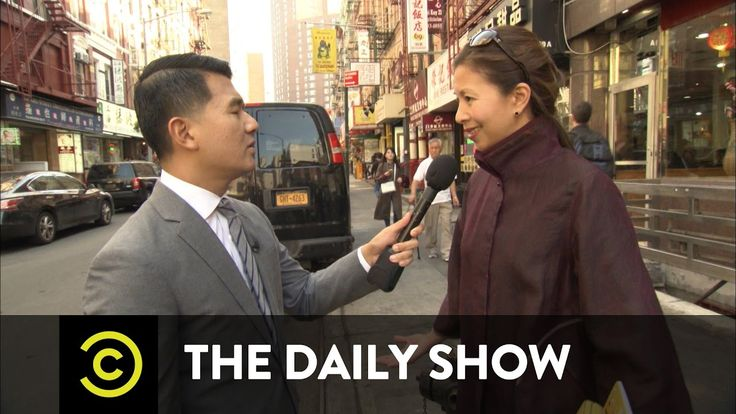 """The Daily Show - """"The O'Reilly Factor"""" Gets Racist in Chinatown"""