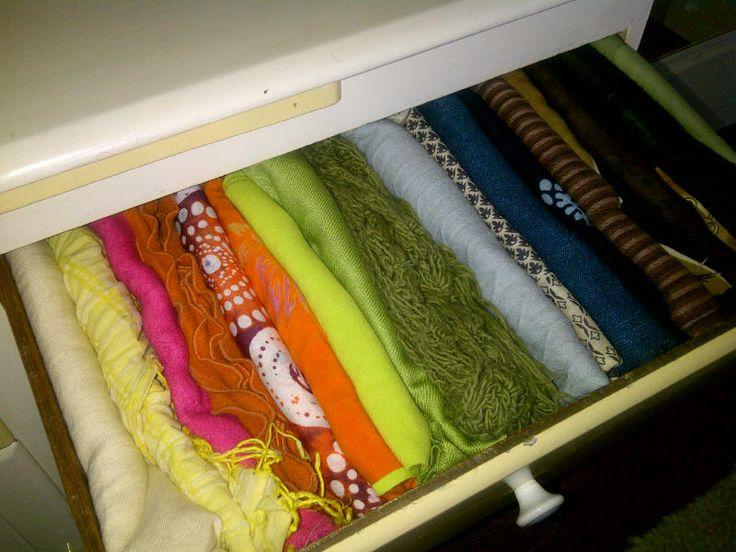 Nancy's Scarf drawer