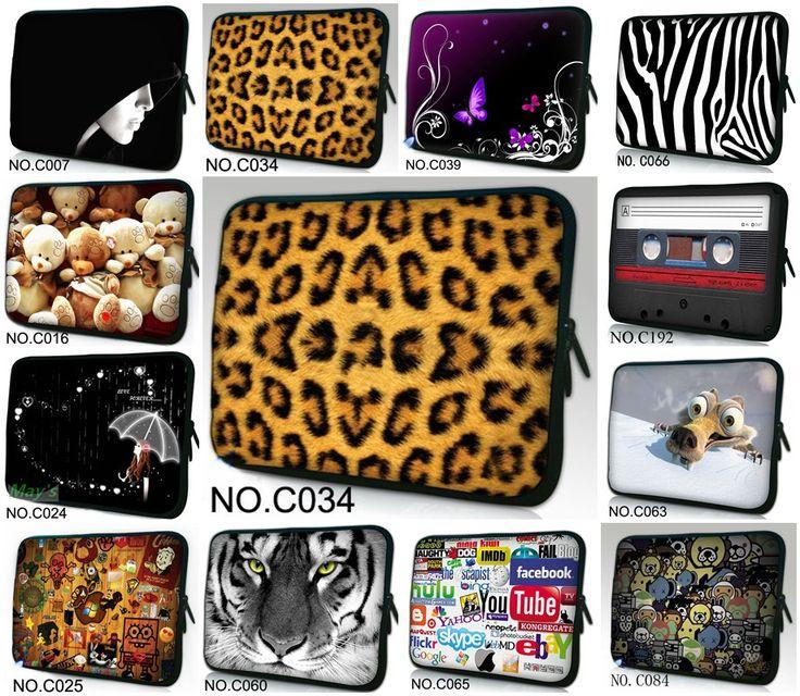 Призрак Многие Дизайн Ноутбука Сумка Чехол Для 10.1 Samsung Galaxy Tab 2 Ipad 2 3 4 Новый
