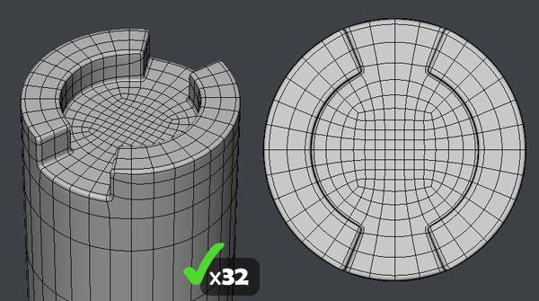 FAQ: How u model dem shapes? Hands-on mini-tuts for mechanical sub-d AKA ADD MORE GEO - Page 44 - Polycount Forum