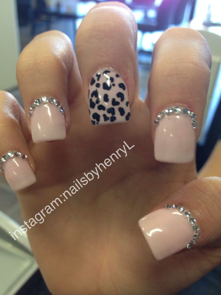 cheetah print nail design nail designs instagram
