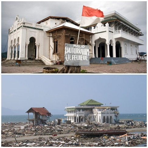 Kisah Ajaib di Masjid Baiturrahim Ulee Lheue - Aceh Tourism And Culture
