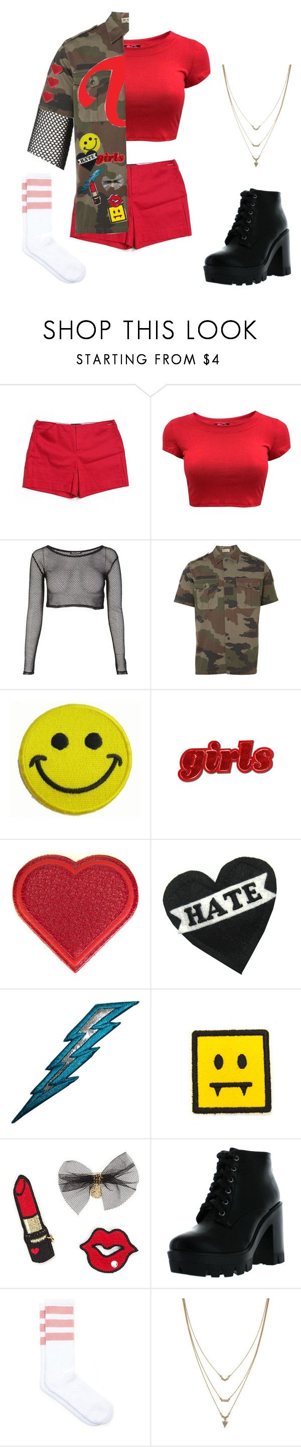 """""""ooh ahh #2"""" by harleey-nicolee ❤ liked on Polyvore featuring Tommy Hilfiger, Peace Corps, Hollywood Mirror, Anya Hindmarch, Bamboo and Jessica Simpson"""