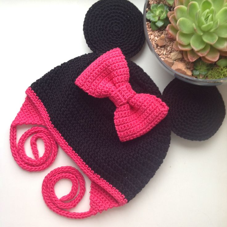Crochet Hat Pattern Minnie Mouse ~ manet for .