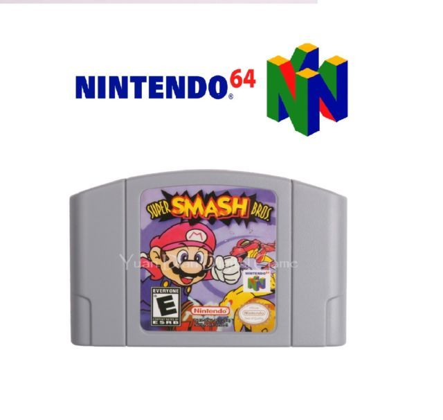 Super Smash Bros. Nintendo 64 REPRODUCTION N64 Game TESTED ! US Edition | eBay