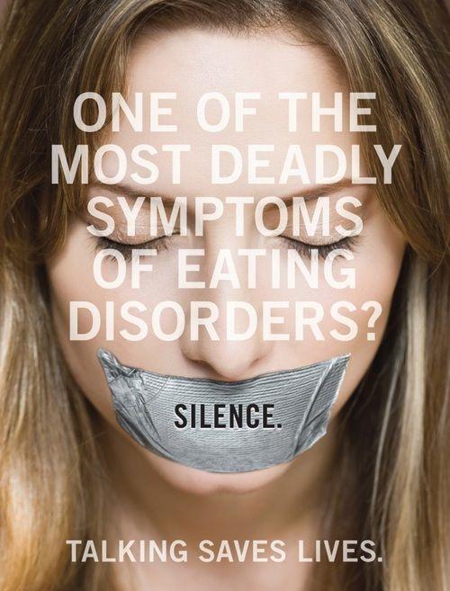 Un des symptômes les plus dangeureux (voir mortels) des troubles de l'alimentation?  Le Silence.  En parler, ça sauve des vies | I Want To See Me Be Brave ♥ | moicommejesuis.blogspot.com