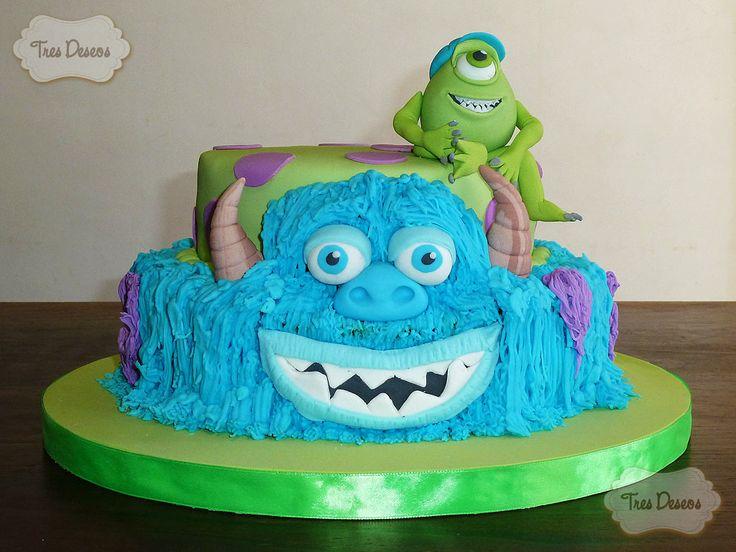 Torta Decorada: Monsters University. | Tortas Decoradas | Pinterest