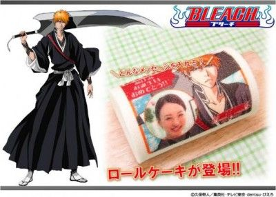 Create your own cake with BLEACH's Ichigo and your face!