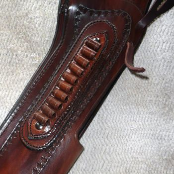 Mare's Leg Holster w/Cartridge Loops  YOU DREAM IT - WE MAKE IT !  http://www.beavermountainworks.com/product/mares-leg-holster-wloops/