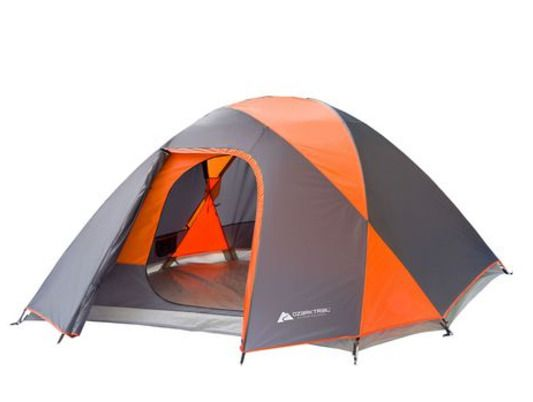 Ozark Trail 5 Person Dome Tent with Full Coverage Rainfly 10'(L)x 8 (W)x 58''(H) | eBay