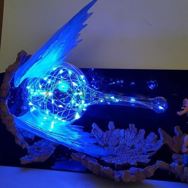 Goku Kamehameha Figurine Lampe Dragon Ball Goku Dragon Ball Z Dragon Ball