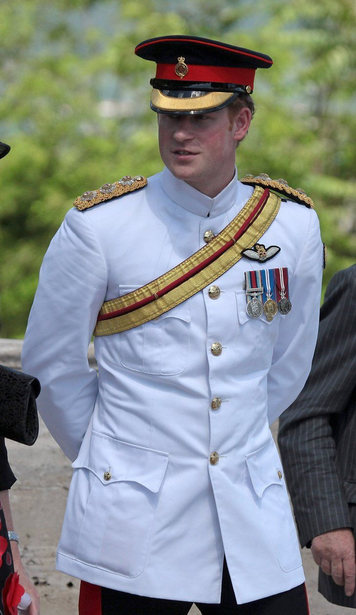 49 Photos That Prove Prince Harry Was Born to Wear a Uniform