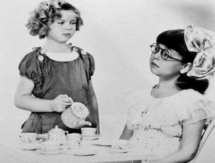 Shirley Temple and Jane Withers, Promo for Bright Eyes, 1934.