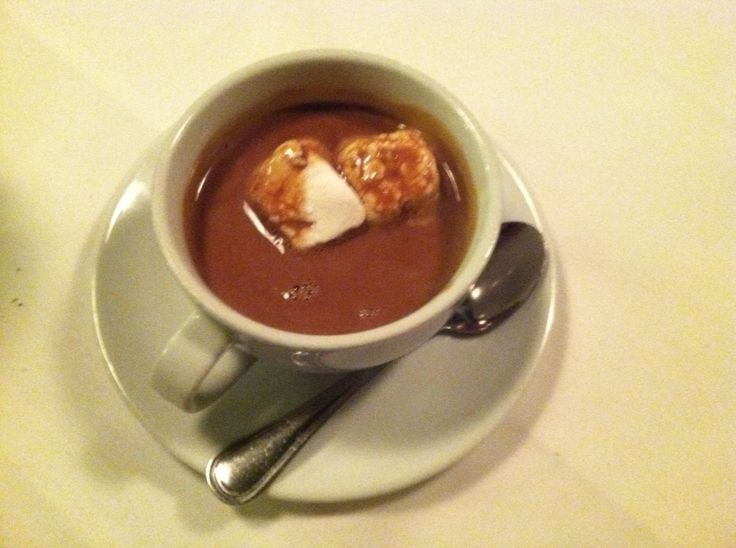 Margot Cafè • Nashville, TN - Hot Chocolate with Homemade Marshmallows - Mmm good!!!