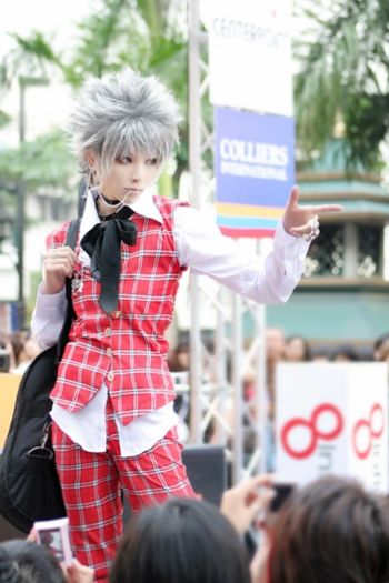 Okazaki Shinichi (YUEGENE - WorldCosplay) | NANA #cosplay #anime
