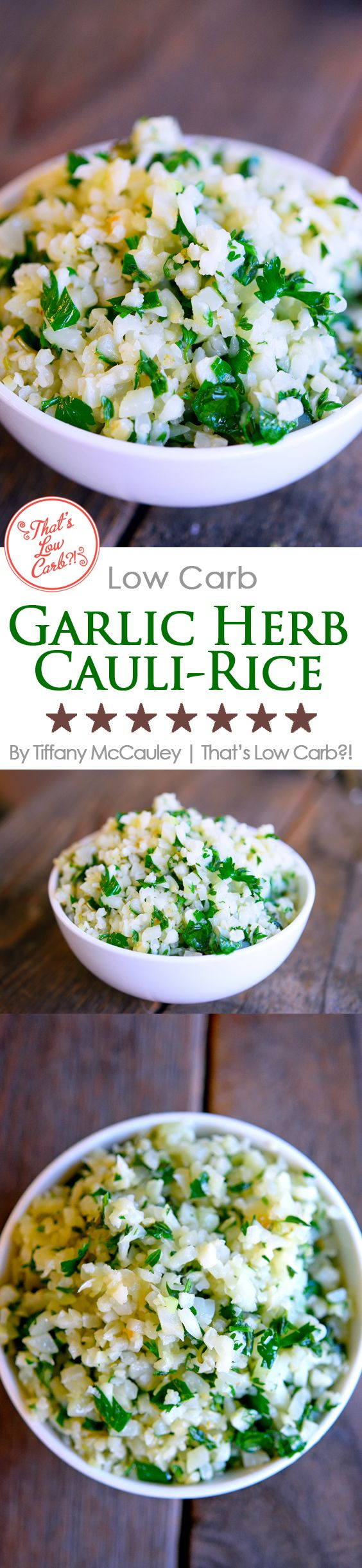 Low Carb Recipes | Low Carb Rice Recipe | Cauliflower Rice Recipe | Healthy Recipe ~ http://www.thatslowcarb.com