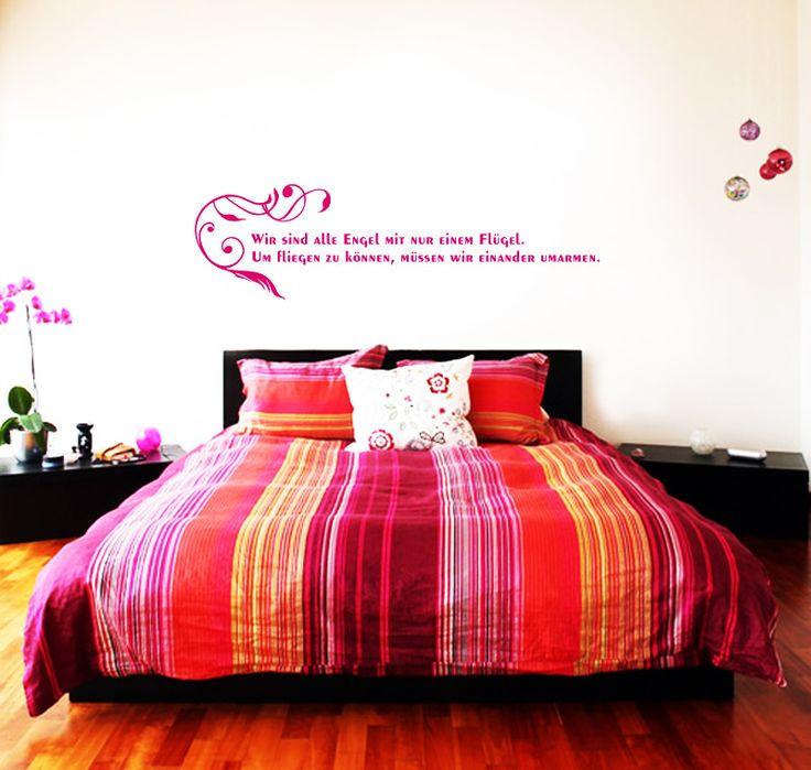 25+ parasta ideaa Pinterestissä Wandtattoo Für Schlafzimmer - wandtattoos schlafzimmer sprüche