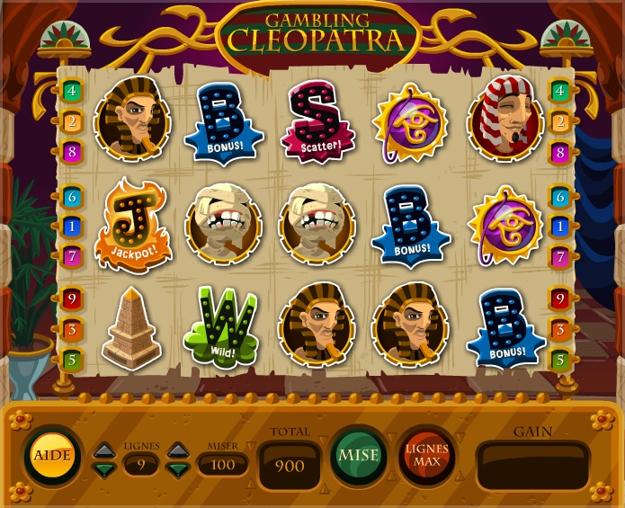 Gambling Cleopatra Room - La Riviera