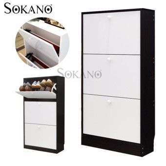 Special Prices SOKANO N103 3 Tiers European Style Premium Wooden Shoe Cabinet - Black Mix White (11003A)Order in good conditions SOKANO N103 3 Tiers European Style Premium Wooden Shoe Cabinet - Black Mix White (11003A) You save SO416HLAB1HLGLANMY-81081149 Furniture & Decor Storage & Organisation Shoe Organisers Sokano SOKANO N103 3 Tiers European Style Premium Wooden Shoe Cabinet - Black Mix White (11003A)