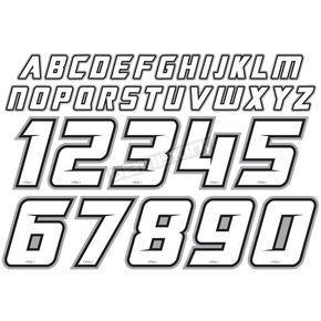 Factory Effex Vented Iron-On Jersey ID Kit - 11-82130  ATV Dirt Bike
