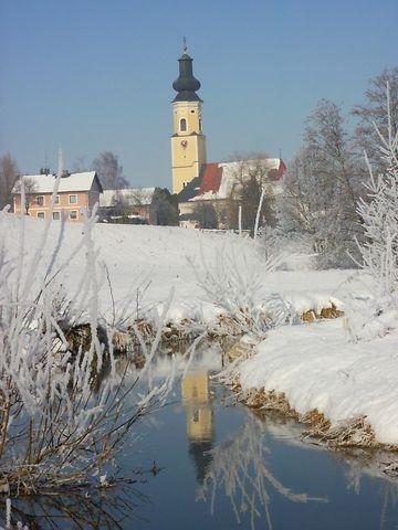 Pischelsdorf am Engelbach, Pfarrkirche Mariä Himmelfahrt (Braunau am Inn) Oberösterreich AUT