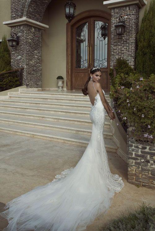 abiti da sposa taglio a sirena che valorizzano la silhouette