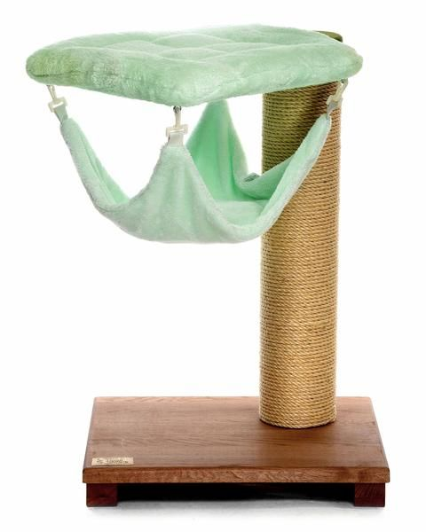 41 best images about cat trees scratching posts on pinterest cat scratching cats and cat - Cat hammock scratcher ...